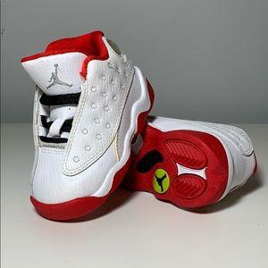Baby Jordan 13 Red & White